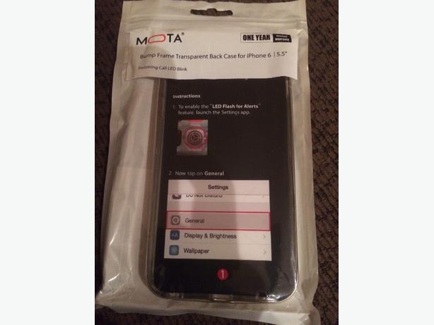 """New Iphone 6 (5.5"""") flashing led case"""
