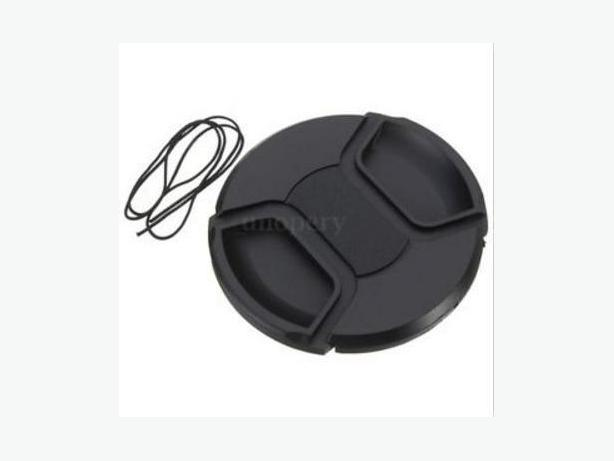 Universal 77mm Center Front Lens Cap Hood Cover