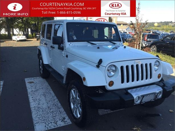 2013 Jeep Wrangler Unlimited Sahara**NEW YEAR'S CLEAROUT SALE