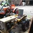 1968 allis chalmers B10 garden tractor