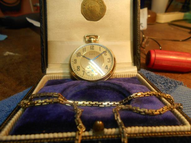 Elgin Pocket Watch, 14k gold filled