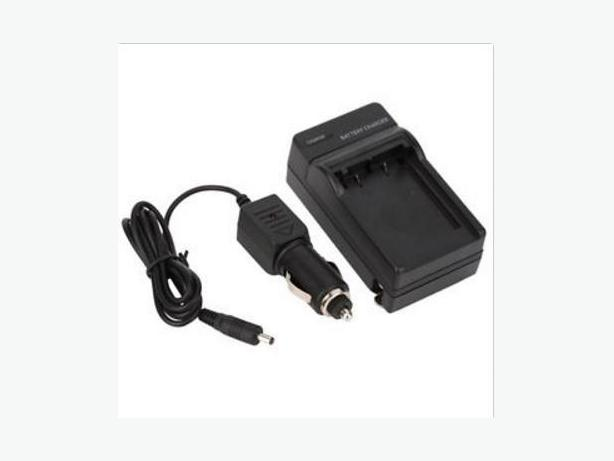 2 in 1 Wall and Car LI-10B LI-12B Battery Charger for Olympus Stylus