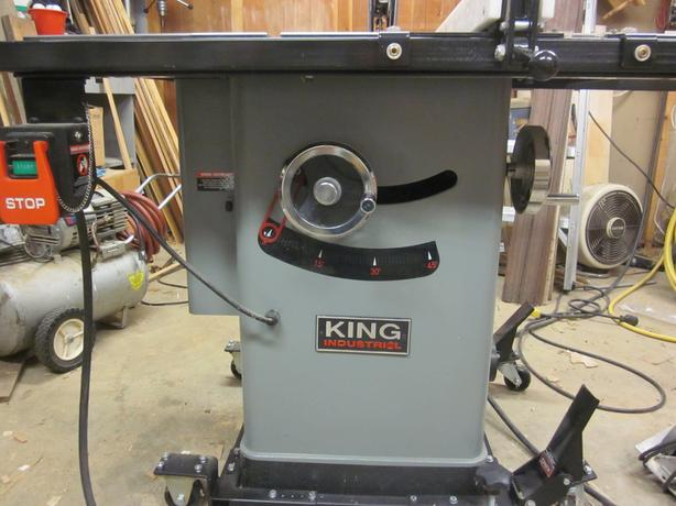 King Canada Cabinet Table Saw