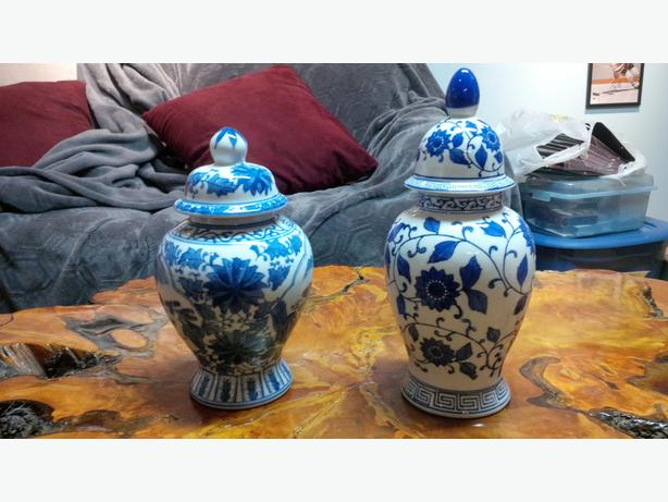 Beautiful China Vases, sell separately or as a set
