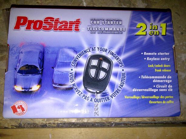 Prostart Remote Car Starter