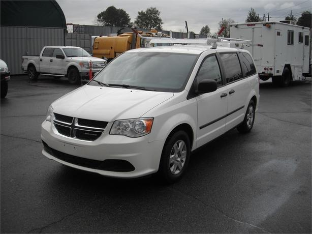 2011 Dodge Grand Caravan Cargo Van w/ Shelving and Ladder Rack
