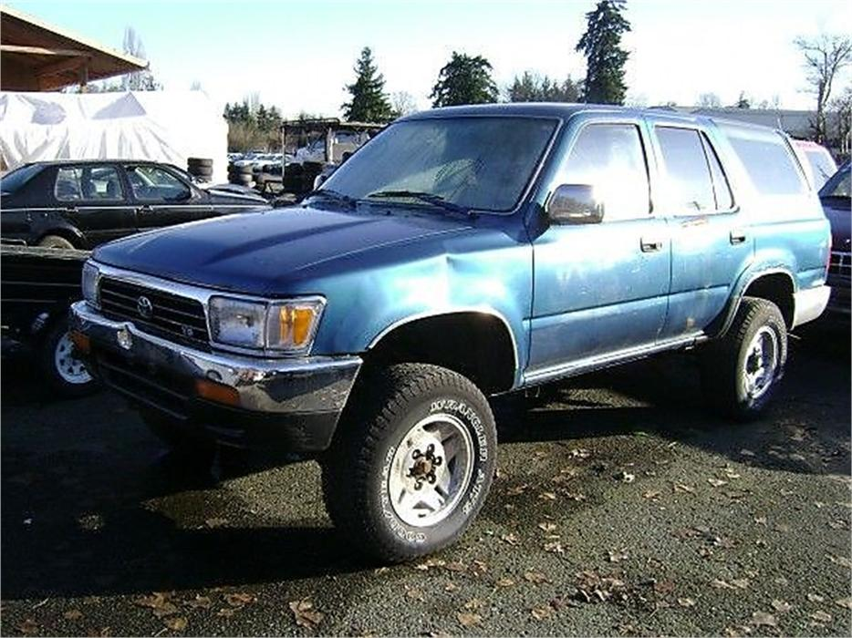 1992 toyota 4runner sr5 v6 4wd outside cowichan valley. Black Bedroom Furniture Sets. Home Design Ideas