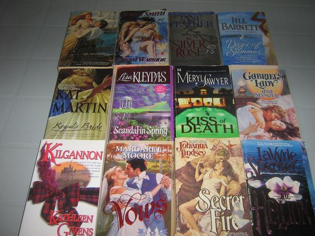 Romance Fiction Book Lot of 24