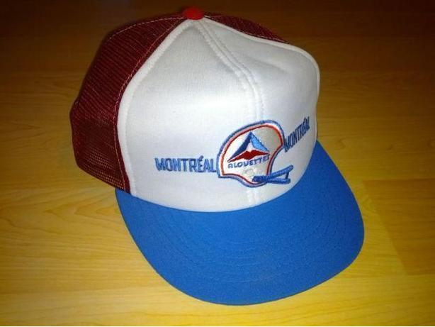 Vintage 80's Montreal Alouettes Hat