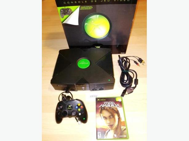 Xbox System In Box With One Controller & $10 Towards Games