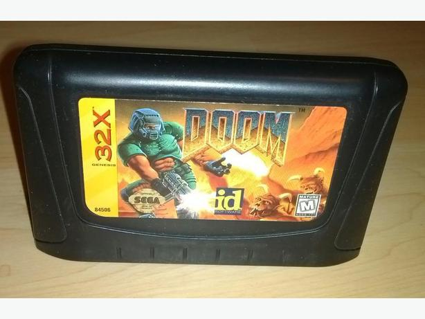 DOOM for The Sega 32x