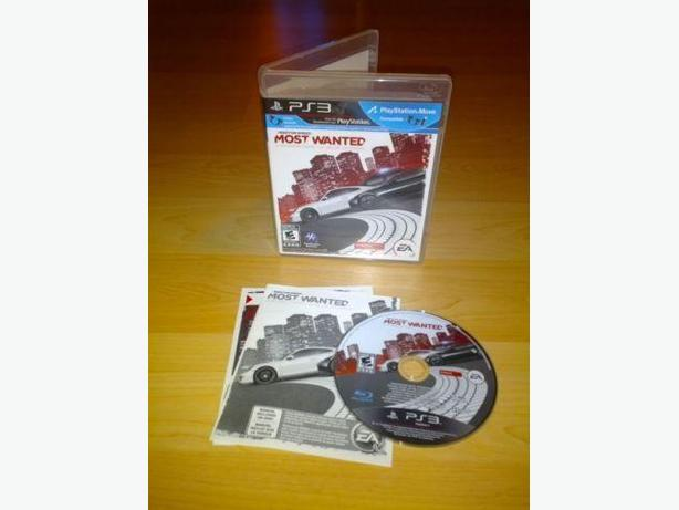 Need For Speed Most Wanted For Playstation 3 PS3