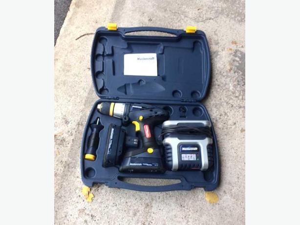 Mastercraft 18 volt hammer drill