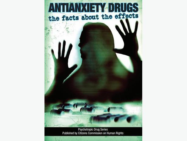 FREE: Antianxiety Drugs: The facts about the effects. Booklet to DOWNLOAD