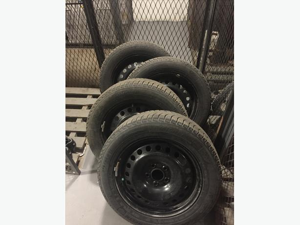 Michelin x-ice3 with rims, 215/55r/16