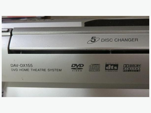 Sony DAV-DX155 Home Theater System - 5.1 channel