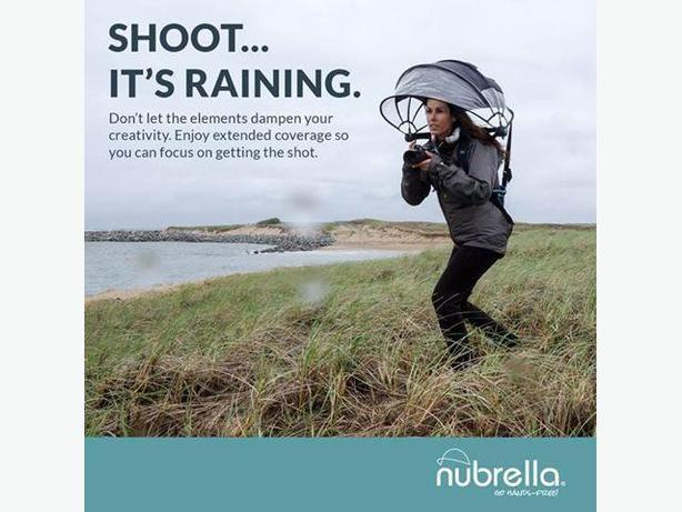 Nubrella - Hands free weather protection