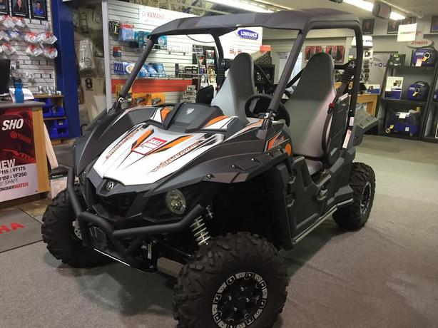 2017 Yamaha Wolverine Special Edition