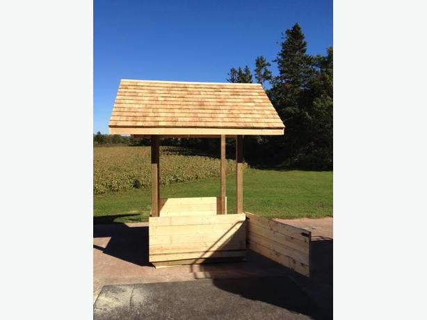 Horse Hay Shelter