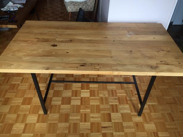 EQ3 reclaimed teak dining table