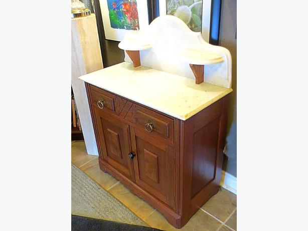 Marble Washstand – Visa, MCard, Delivery Available