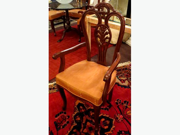 Mahogany Dining Chair- MCard,Visa, Delivery Available