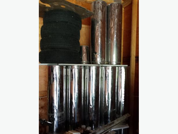 stainless Woodstove pipe