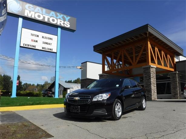 2013 Chevrolet Malibu LT - Leather Int, Remote Start, OnStar
