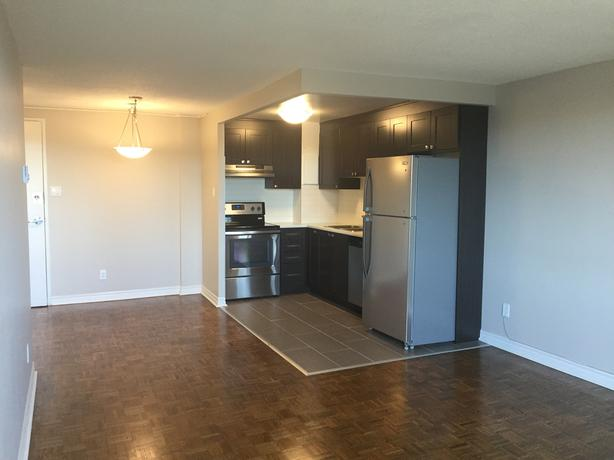 FULLY-RENOVATED 1BDR APT. ON 12TH FLOOR! BALCONY/HIGHRISE