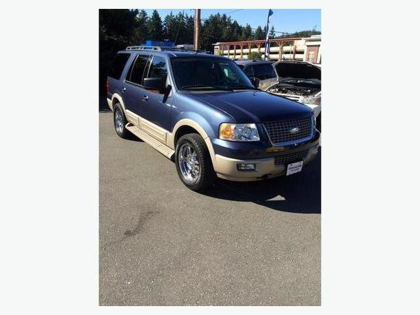 2005 Ford Expedition Eddie Bauer Trailer Tow 7 Pass 227k Very Clean