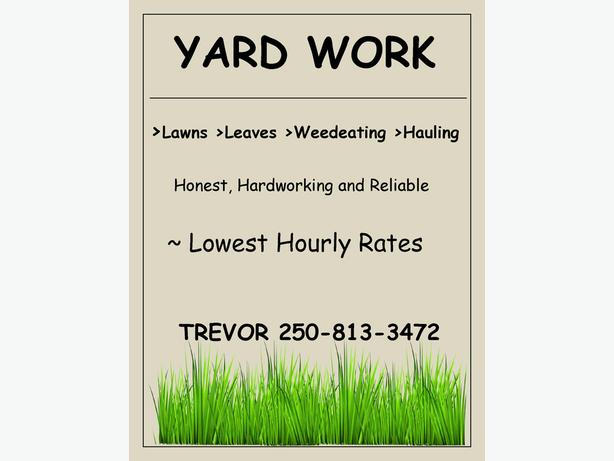 Yard Work Services