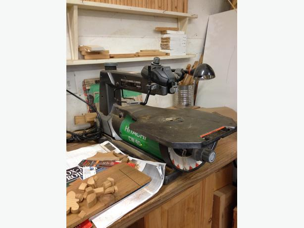 CW40 Variable Speed Scroll Saw