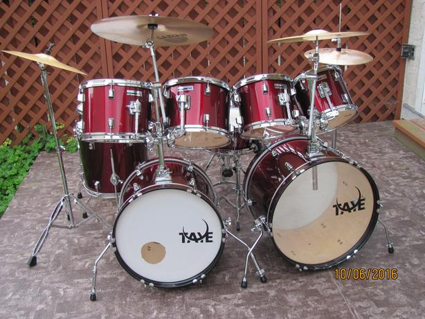 Big set of drums