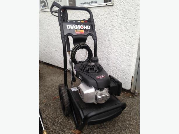 diamond pro 2600 psi gas pressure washer manual