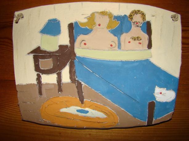 Ceramic Wall Plaque