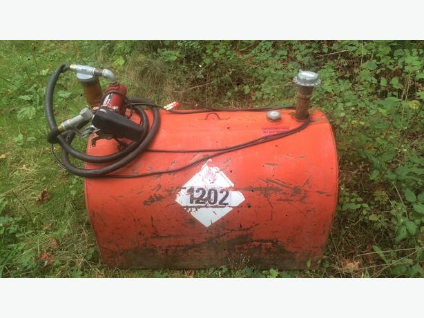 600L tidy tank with pump