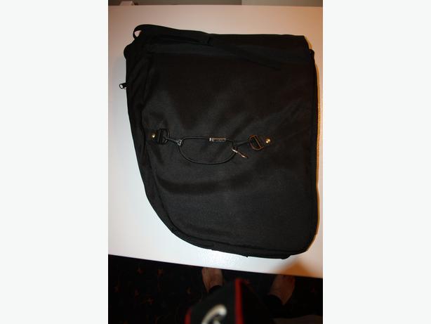 Saddle bag suitcase
