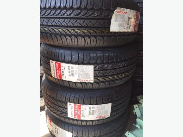 Brand new 225/55/R17 Kumho Ecsta PA-31 performance All Seasons