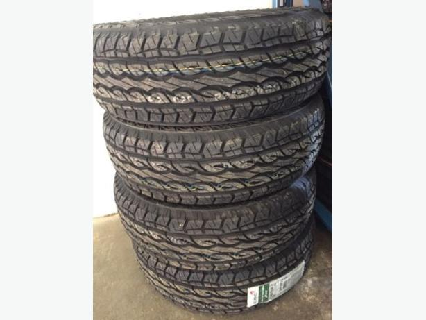 NEW 245/70/R17 Kumho KL-61 All Terrain tires– Winter SnowFlake