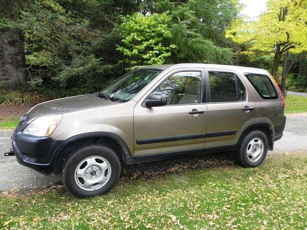 2004 Honda CRV 4X4, set up for flat towing.