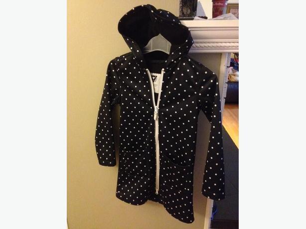 size 8/9 lined raincoat