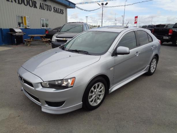 2012 Mitsubishi Lancer SE #I5271 INDOOR AUTO SALES WINNIPEG