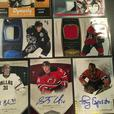 Autographed / Jersey hockey cards