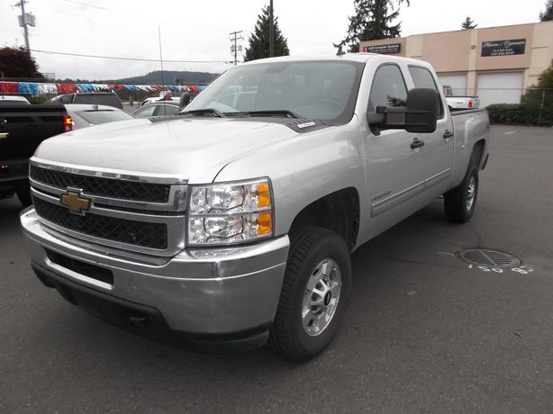 2011 CHEVROLET 2500 CREW CAB DIESEL 4X4 FOR SALE
