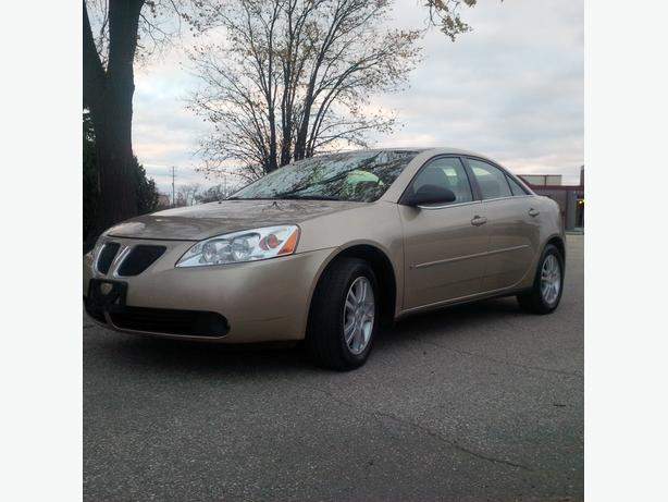 2006 Pontiac G6 accident free & one owner