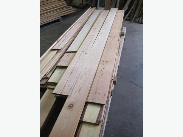 Reject Fir Paneling Stock Clearance