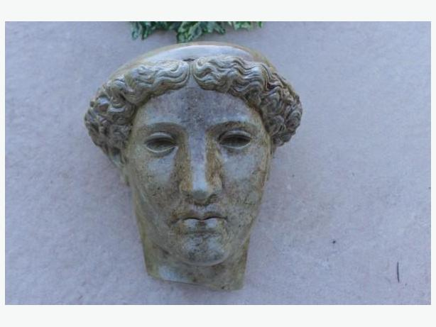 GREEK CONCRETE HEAD