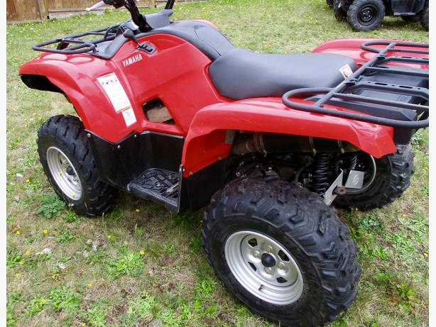 2009 yamaha grizzly 700 eps 4x4 atv four wheeler efi