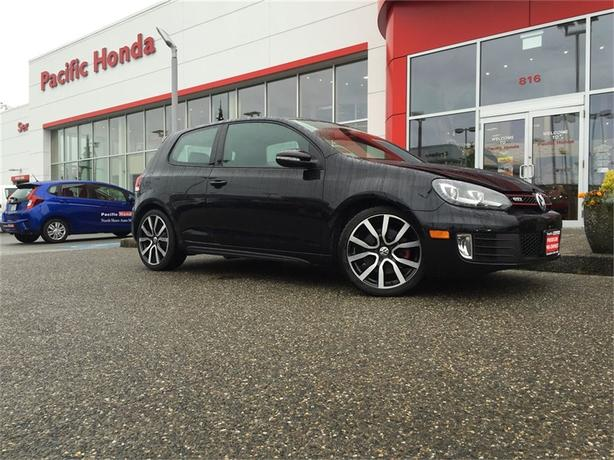 2012 Volkswagen Golf GTI 3DR HB MAN-The most beautiful Golf in Vancouver!