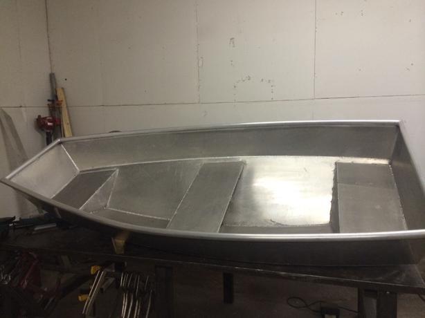 aluminum row boat